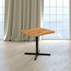 """30"""" Square Butcher Block Style Table Top"""