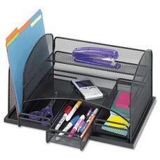 Safco® Three Drawer Organizer - Steel - 16 x 11 1/2 x 8 1/4 - Black