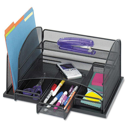 Our Safco® Three Drawer Organizer - Steel - 16 x 11 1/2 x 8 1/4 - Black is on sale now.
