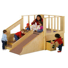Tiny Tots Loft Playhouse