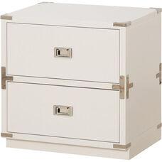 OSP Designs Wellington 2 Cabinet - White