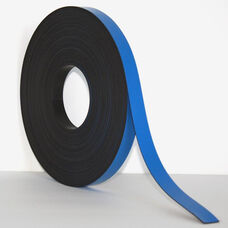 .375''H x 50'L Colored Magnetic Strips - Blue