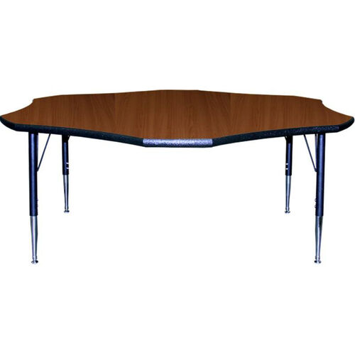 Our Flower Shaped Activity Table with Lotz Armor Edge and Anti-Gum Coated Phenolic Backer is on sale now.