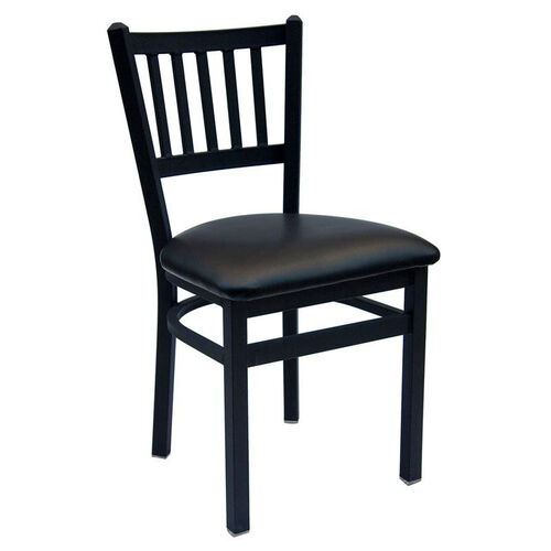 Our Troy Metal Slat Back Chair - Vinyl Seat is on sale now.