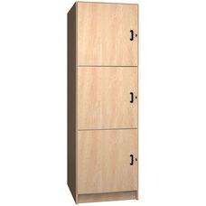 3 Compartment Storage w/Doors