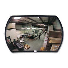 See-All Industries Rounded Rectangular Convex Mirrors - 24