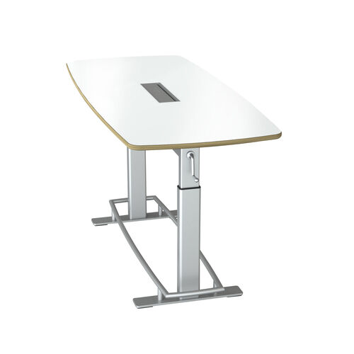 Our Focal™ Confluence Table 6 - White Dry Erase Markerboard is on sale now.