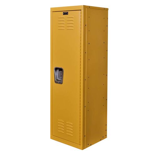 Our Trophy Yellow Kids Standard Locker - Unassembled - 15