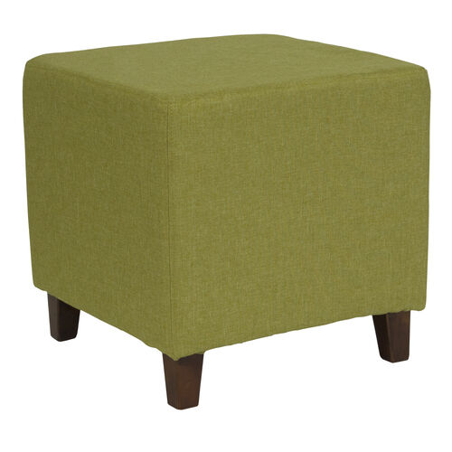 Our Ascalon Upholstered Ottoman Pouf in Green Fabric is on sale now.