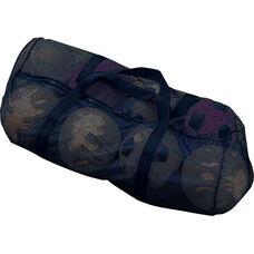 Mesh Duffle Bag in Black