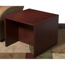 OSP Furniture Napa End Table - Mahogany