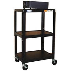 Height Adjustable Steel AV Cart