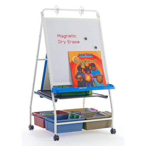 Royal® Reading Writing Center with 2 Open and 4 Stubby Tubby Tubs Upgrade