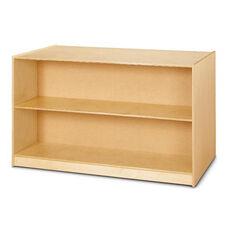 Double-Sided Island - Straight Shelf Storage