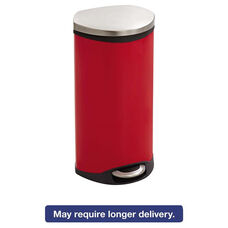 Safco® Step-On Medical Receptacle - 7.5gal - Red