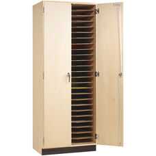 Paper/Drawing Board Storage Cabinet