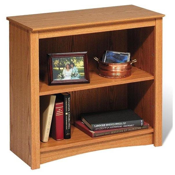Etonnant ... Our Functional 31.5u0027u0027W 2 Shelf Bookcase With 1 Adjustable Shelf   Oak  ...