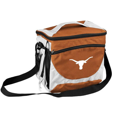 Our University of Texas Team Logo 24 Can Cooler is on sale now.
