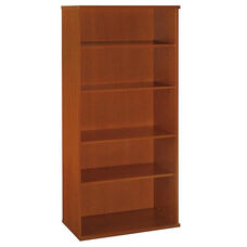 Series C Open Double Bookcase - Auburn Maple