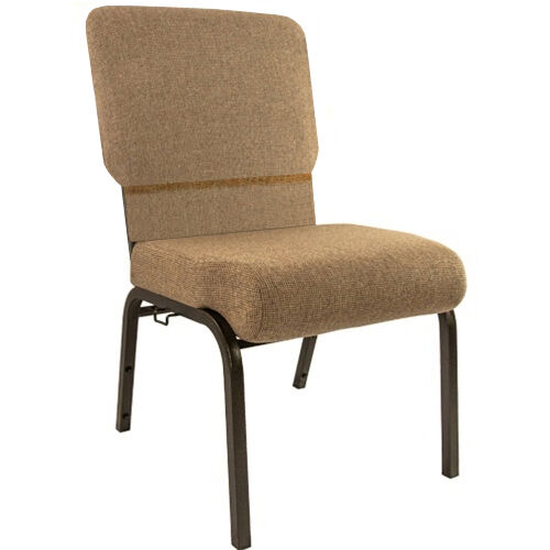 Advantage Mixed Tan Church Chair 20.5 in. Wide