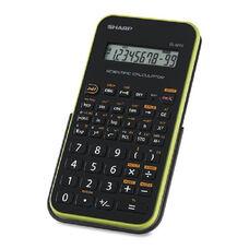 Sharp EL501X Scientific Calculator - Battery Powered - 3.3
