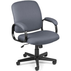Value Executive Low-Back Task Chair - Gray