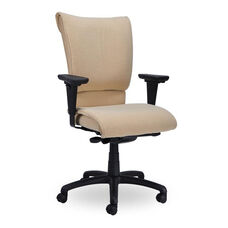 Saddle 400 Series High Back Multiple Shift Quick Set Back Height Task Chair