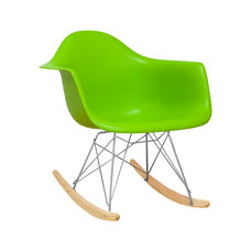 Paris Tower Rocking Chair with Green Seat