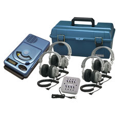 4 Person CD/MP3 Listening Center with Deluxe Headphones