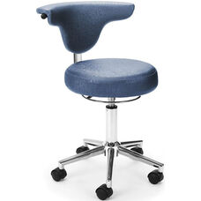 Elements Anatomy Anti-Microbial and Anti-Bacterial Vinyl Chair - Capreni Slate