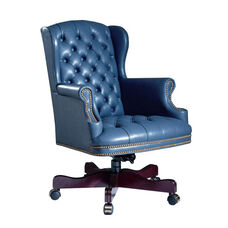 Hamilton Series Wing Executive Swivel Chair with Tufts