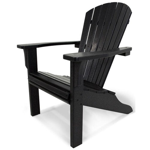 Our POLYWOOD® Seashell Adirondack - Black is on sale now.