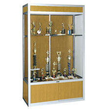 737 Universal Series Aluminum Frame Display Case with 18
