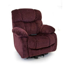Space Saving Wall-A-Way Reclining Power Lift Chair with Backlit Hand Control - Cabo Vino Fabric