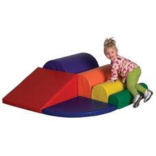 SoftZone® Bright Colors Vinyl Covered Foam Watch Me Go Beginner Climber