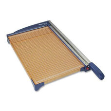 Acme United Corporation Paper Trimmer - Woodgrain/Blue