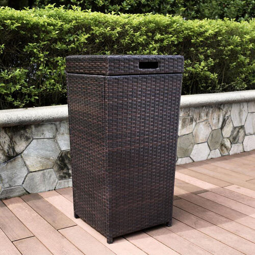 Our Palm Harbor Outdoor Wicker Trash Bin is on sale now.