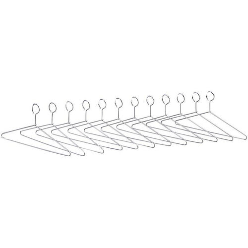 Our Extra Hangers for Shelf Racks - Set of Twelve - Chrome is on sale now.