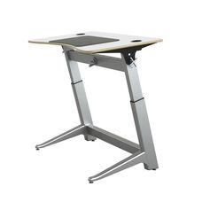 Focal™ Locus™ 4 Standing Desk - Glacier White