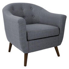 Rockwell Accent Chair in Gray