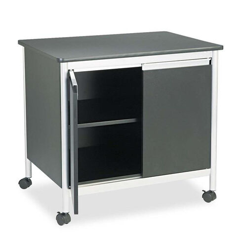 Our Safco® Deluxe Steel Machine Stand - One-Shelf - 32w x 24-1/2d x 30-1/4h - Black is on sale now.
