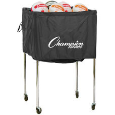 Folding Volleyball Cart