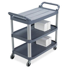 Rubbermaid Commercial Products Xtra 3-shelf Utility Carts - 20.9