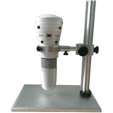White and Gray High Resolution Digital Microscope for iPad with Rechargeable Lithium Battery and 1/5
