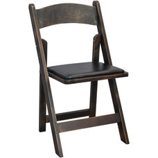 Advantage Wood Folding Wedding Chair