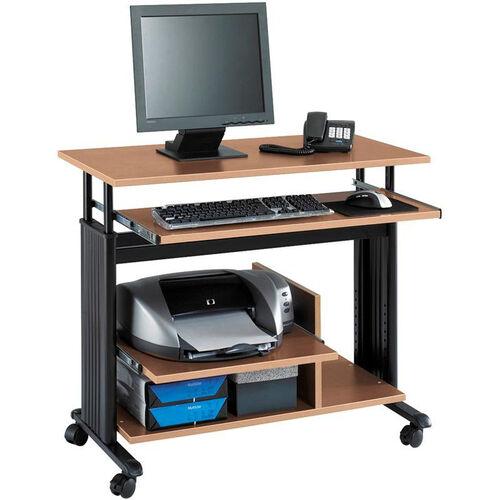Muv™ Mini Tower Workstation Adjustable Height - Medium Oak