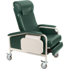 Clinical Recliner with Nylon Casters