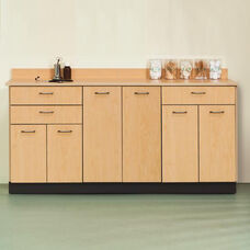 Base Cabinet - 6 Doors - 3 Drawers - 72