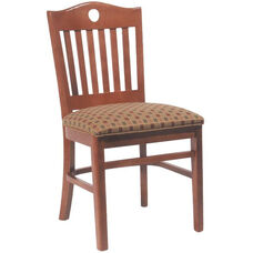 2678 Side Chair with Slot Back & Upholstered Seat - Grade 2