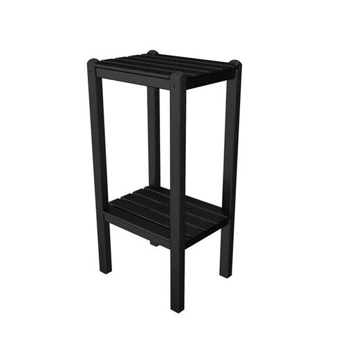 Our POLYWOOD® Bar Side Table - Black is on sale now.